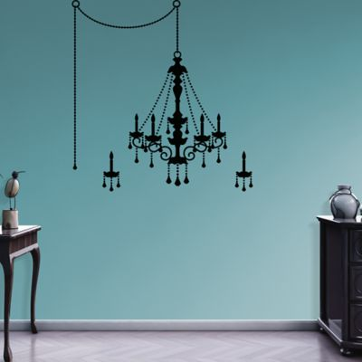 Chandelier Fathead Wall Decal